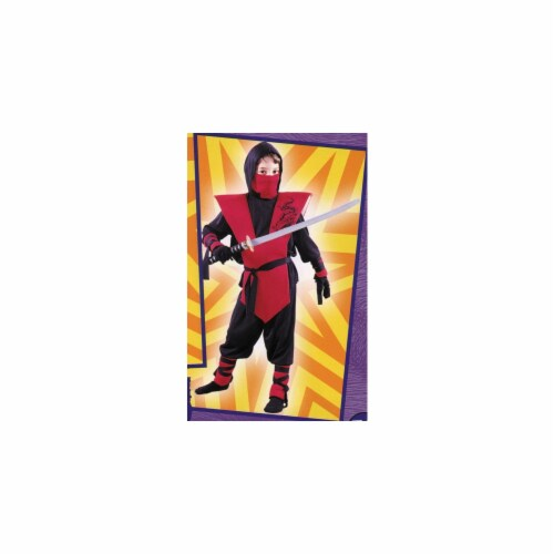Costumes For All Occasions Fw8735Rdmd Ninja Complete Red Md Perspective: front