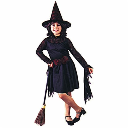 Costumes For All Occasions FW8752MD Medium Witch of The Web Child Perspective: front