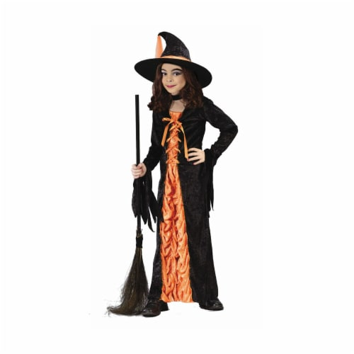 Costumes For All Occasions FW5904LG Witch Mystic Orange Large Perspective: front