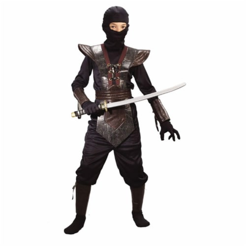 Costumes For All Occasions Ninja Fighter Child Costume Perspective: front