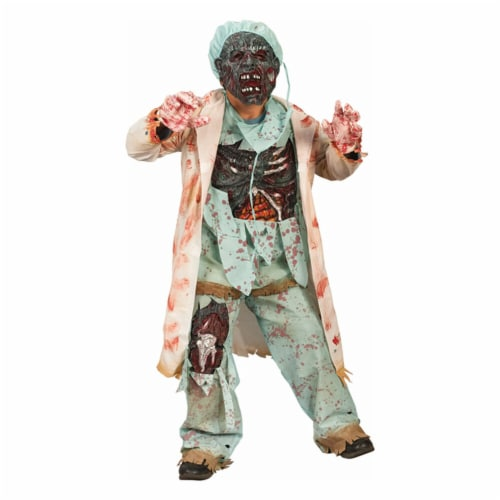 Costumes For All Occasions FW5957LG Zombie Doctor Child Large Perspective: front