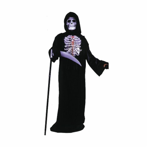 Costumes For All Occasions FW8758 Bleeding Skelebones Child Perspective: front
