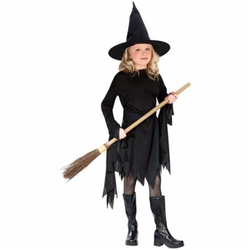 Costumes For All Occasions FW9721LG Classic Witch Child Lg 12-14 Perspective: front