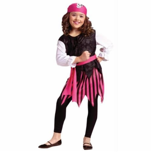 Costumes For All Occasions FW8738LG Caribbean Pirate Girl 12-14 Perspective: front
