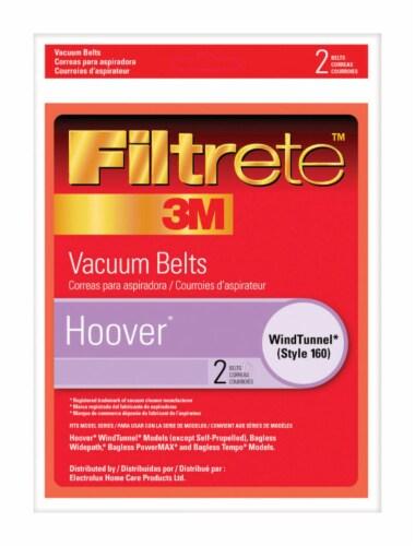 3M Filtrete™ Hoover 160 Vacuum Belts Perspective: front