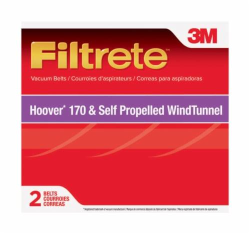3M Filtrete™ Hoover 170 Self-Propelled WindTunnel Vacuum Belts Perspective: front
