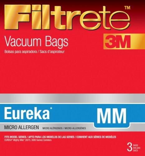 3M Filtrete Eureka MM Vacuum Bags Perspective: front