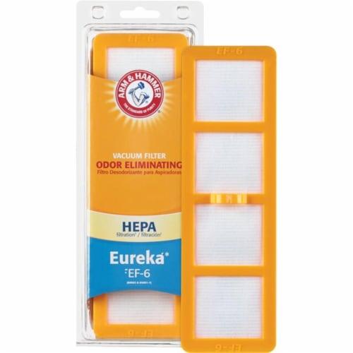 Arm & Hammer 69116FQ Electrolux Eureka EF-6 Allergen Vacuum Filter Perspective: front