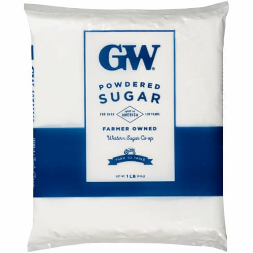 GW Powdered Sugar Perspective: front