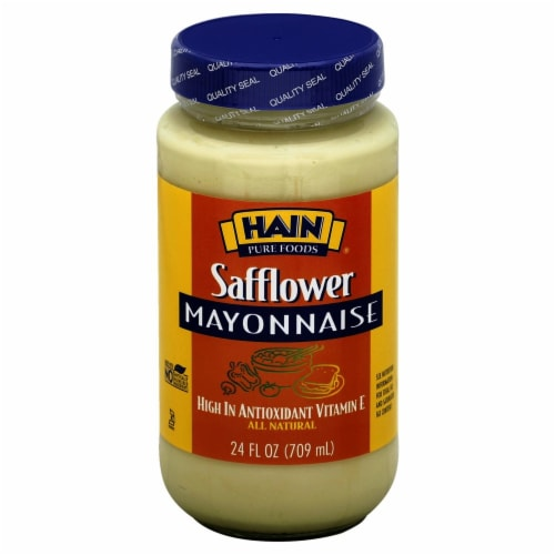 Hain Pure Foods Safflower Mayonnaise Perspective: front