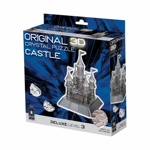 BePuzzled 3D Castle Crystal Puzzle Perspective: front