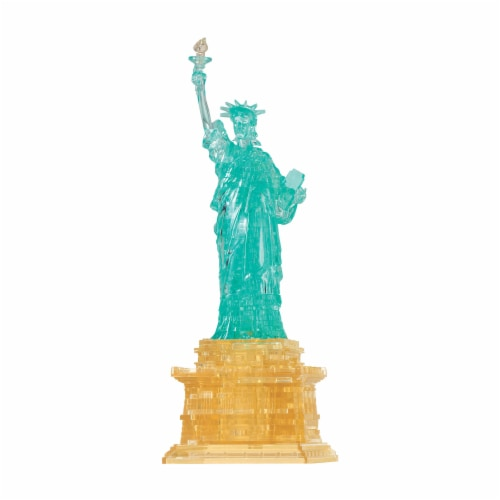 BePuzzled 3D Statue of Liberty Crystal Puzzle Perspective: front