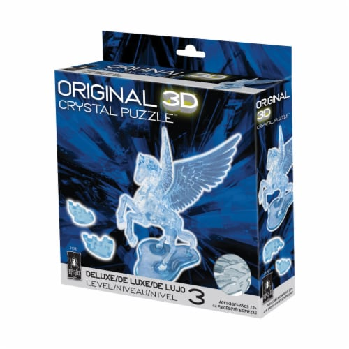 BePuzzled 3D Pegasus Crystal Puzzle Perspective: front