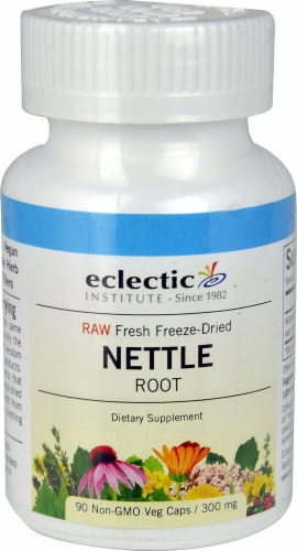 Eclectic Institute Nettle Root Veg Caps 300 mg Perspective: front