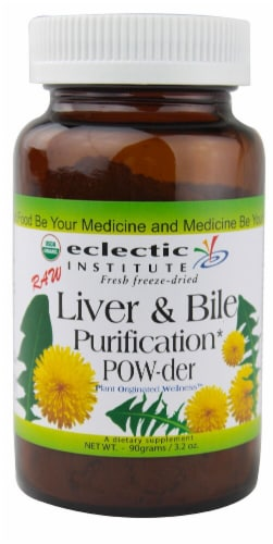 Eclectic Institute Liver & Bile Purification Powder Perspective: front