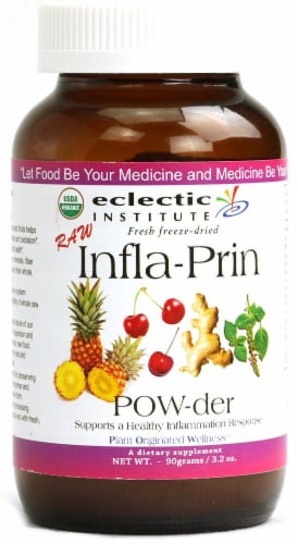 Eclectic Institute Raw Infla-Prin Powder Perspective: front