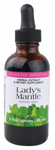 Eclectic Institute Lady's Mantle Herbal Extract Perspective: front