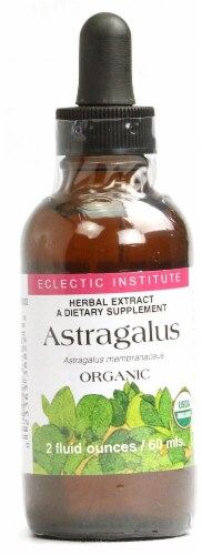 Eclectic Institute Organic Astragalus Herbal Extract Perspective: front