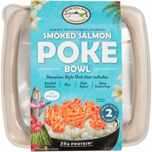 Blue Hill Bay Hawaiian Style Smoked Salmon Poke Bowl Perspective: front