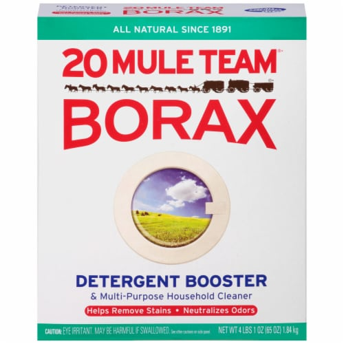 20 Mule Team Borax Detergent Booster Perspective: front