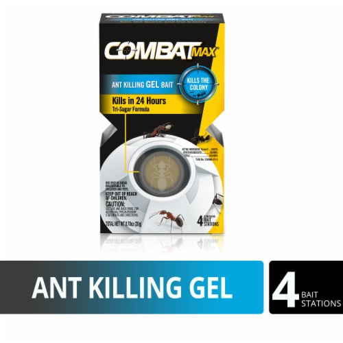 Combat® Max Ant Killing Gel Bait - White Perspective: front