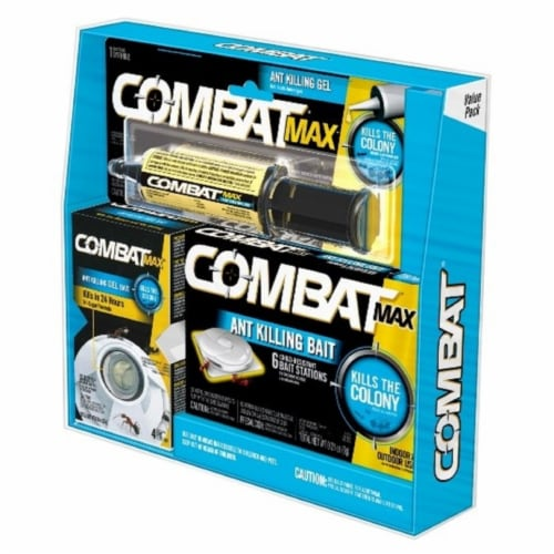 Combat Max Ant Bait Station 6 pk - Case Of: 1; Perspective: front