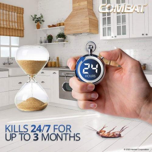 Combat® Max Roach Killing Gel Perspective: front