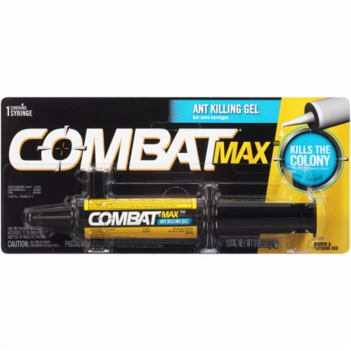 Combat® Max Ant Killing Gel Perspective: front