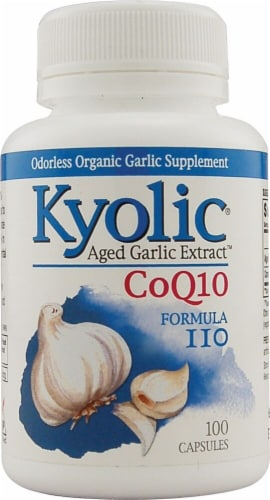 Kyolic  Aged Garlic Extract™ CoQ10 Formula 110 Perspective: front