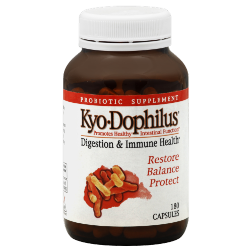 Kyo Dophilus Digestion & Immune Health Dietary Supplement Perspective: front