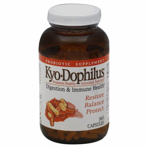 Kyol Kyo Dophilus Capsules Perspective: front