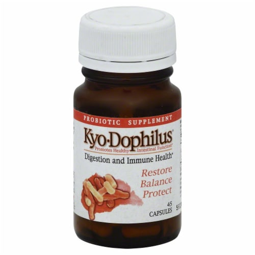 Kyolic Dophilus Digestion And Immune Health Capsules Perspective: front