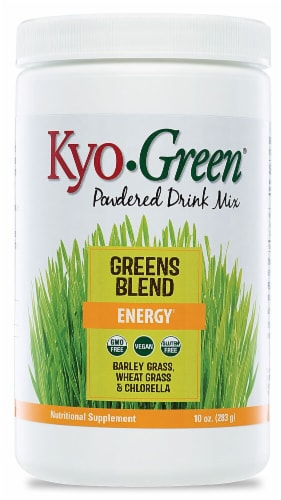 Kyolic Kyo-Green Energy Greens Blend Powdered Drink Mix Perspective: front