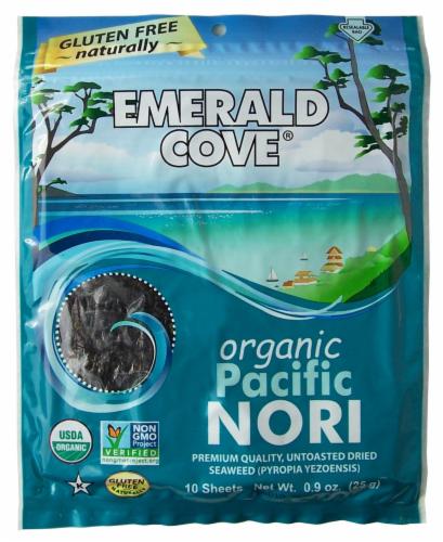 Emerald Cove Organic Pacific Nori Perspective: front