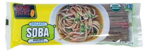 SOBA Organic Oriental Noodles Perspective: front