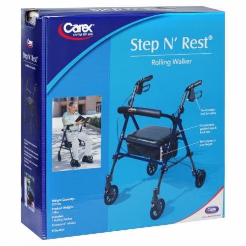 Carex Step 'n Rest Walker Perspective: front