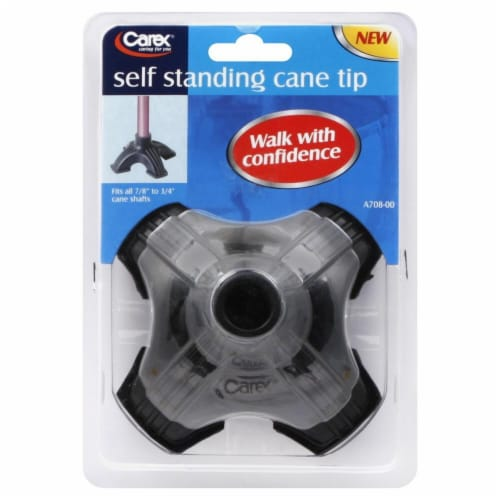 Carex Self Standing Cane Tip Perspective: front