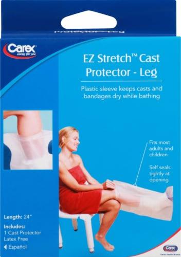 Carex EZ Stretch Leg Cast Protector Perspective: front