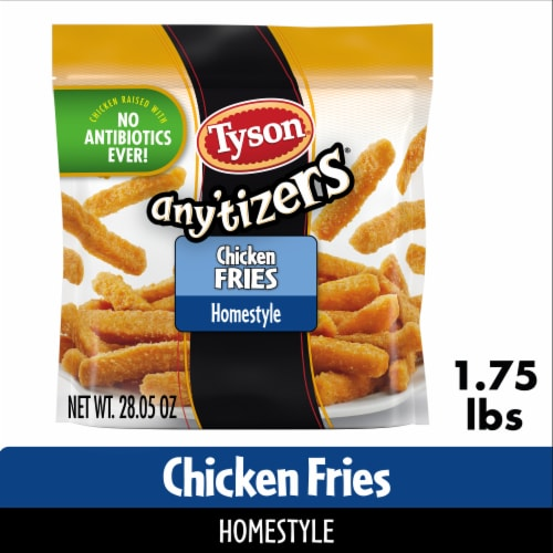 Tyson Any'tizers Home-Style Chicken Fries Perspective: front