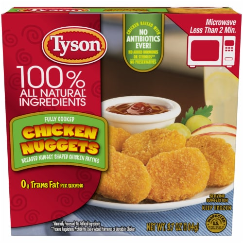 Tyson Fully Cooked Chicken Nuggets