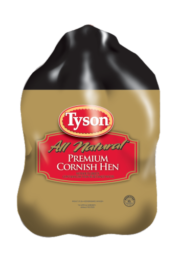 Tyson Cornish Game Hens Perspective: front