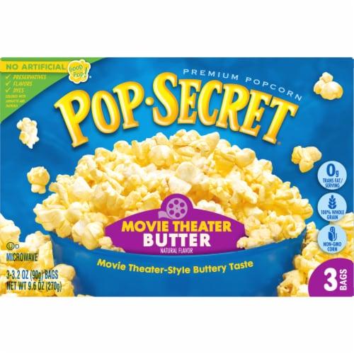 Pop Secret Movie Theater Butter Popcorn Perspective: front