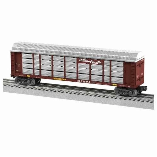 Lionel LNL1928042 O-27 Autorack SP No.518114 Model Train Perspective: front