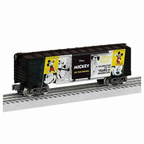 Lionel LNL1938010 O-27 Box Mickey The True Original Model Train Perspective: front