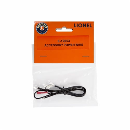 Lionel LNL12053 26 in. Fastrack Accessory Power Wire Perspective: front