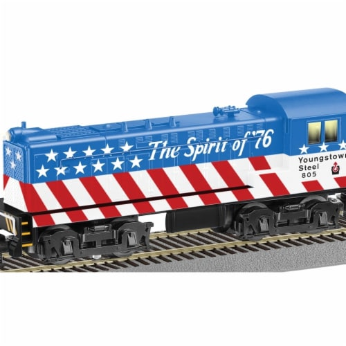 Lionel LNL42599 Youngstown Steel Baldwin Switcher No. 805 Perspective: front