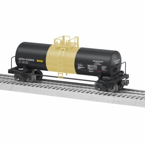 Lionel LNL82859 Engelhard Unibody Tank Car Perspective: front