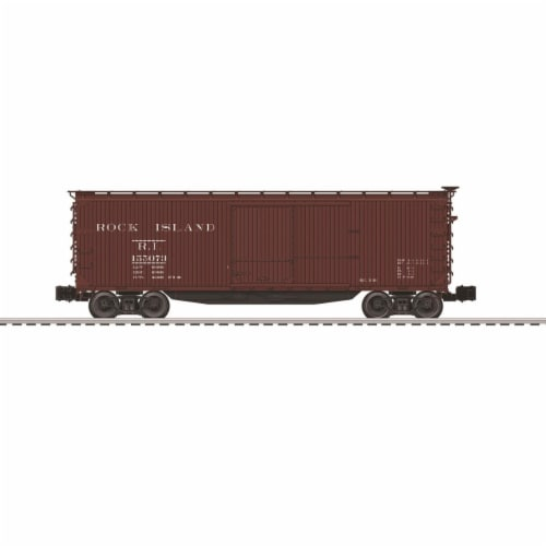 Lionel LNL83349 Rock Island USRA Double Sheath Boxcar Perspective: front