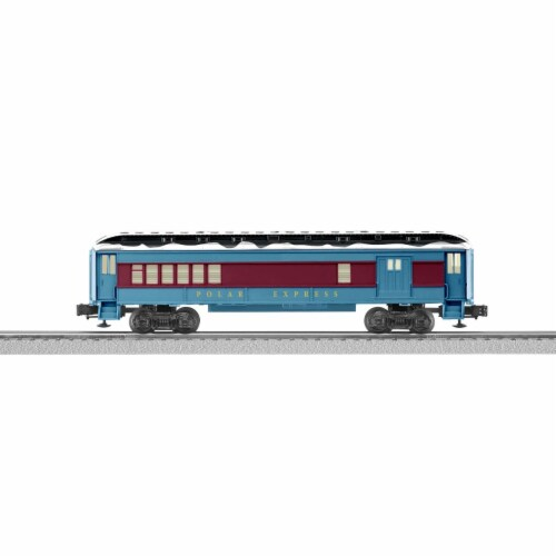 Lionel LNL84600 O Scale Polar Express Combo Car Perspective: front
