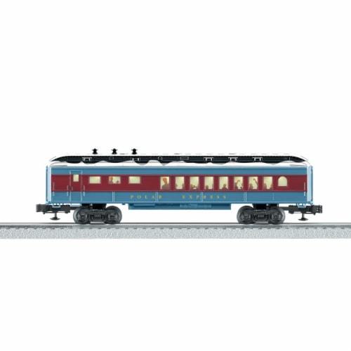 Lionel LNL84604 O Scale Polar Express Diner Madison Passenger Car Perspective: front
